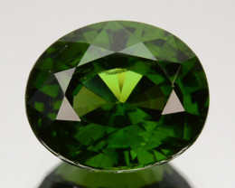 2.42 Cts Natural Sparkling Green Zircon Oval Cut Srilanka
