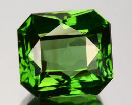 3.17 Cts Natural Sparkling Green Zircon Octagon Cut Srilanka