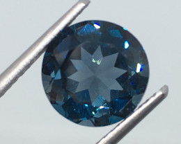 3.37 Carat VS Topaz London Blue Brazilian Beauty - Quality !