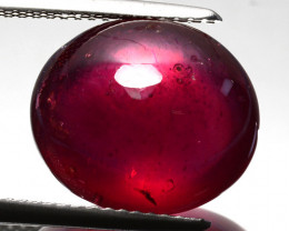 11.40 Cts Pigeon Blood Red Ruby Composite Cabochon Mozambique