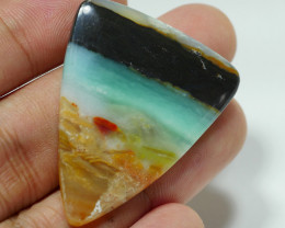 RARE INDONESIAN PETRIFIED WOOD OPAL AA GRADE 30.75 CRT -D4-