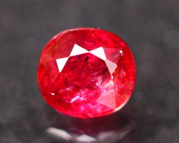 Unheated Ruby 1.00Ct Natural Mozambique Blood Red Ruby ~ E0215
