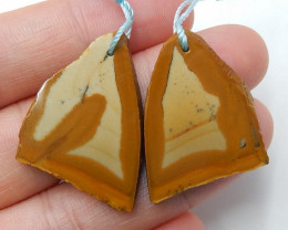 US Biggs Picture Jasper Earrings ,Raaw Gemstone,Wholesale  B440