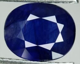 4.06 Cts Sapphire Composite Blue Oval Cut Madagascar
