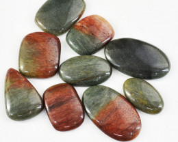 Genuine 220.00 Cts Polygram Jasper Gem Lot