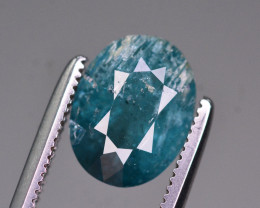 Rare 1.95 Ct Amazing Color Natural Paraiba Tourmaline. RA