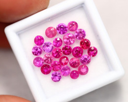 5.15Ct Natural Mozambique Pinkish Red Ruby Heated Only A0302