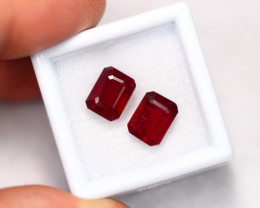 6.93Ct Madagascar Pigeon Blood Red Ruby A0310