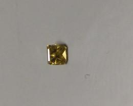Natural Fancy Vivid Yellow Diamond 0.07ct.