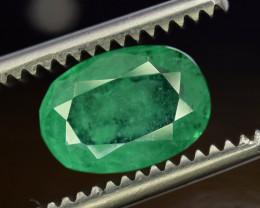 2 ^ Carats OVAL  Cut Natural Clean Rare Panjsher Emerald Gemstone