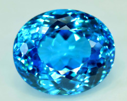 S#31-26 , 45 cts Electric Blue Topaz Gemstone