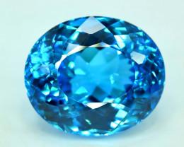 S#31-23 , 43.85 cts Electric Blue Topaz Gemstone