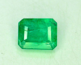 S#31-14 , 1.60 cts Top Color Emerald Gemstone from Swat Pakistan
