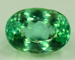 13.05 Cts Beautiful Oval Cut Lush Green Spodumene Gemstone