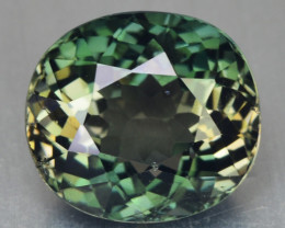 7.22 Cts UN HEATED GREEN COLOR NATURAL TOURMALINE LOOSE GEMSTONE