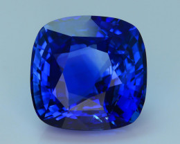 GRS Certified AAA Grade & Color 10.05 ct Royal Blue Ceylon Sapphire