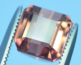 AAA Grade 2.65 ct Amazing Yellowish Pink Tourmaline