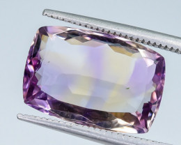 6.12 Crt Ametrine Faceted Gemstone (R14)