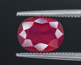 3.48 Crt Composite Ruby Faceted Gemstone (R14)