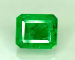 1.50 Carats Top Grade Stunning Lustrous Rare Swat Emerald Loose Gemstone