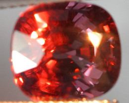 4.64 ct Extremely Rare !!! Cushion shape Color Change Garnet