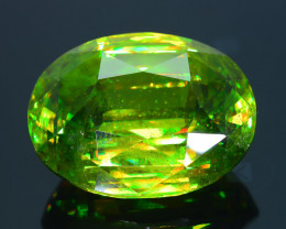 Collector's Sphene 21.0  ct Tanzania AAA Brilliance