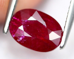 1.38Ct Natural Heated Only Burmese Red Ruby AS0914