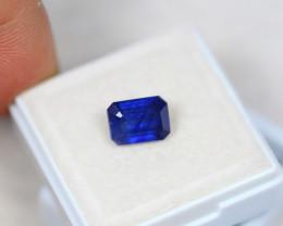 2.89ct Blue Sapphire Composite Octagon Cut Lot V3271