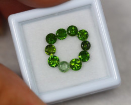 2.04ct Natural Chrome Diopside Round Cut Lot V7739