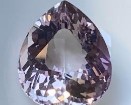 Incredibly beautiful Pink Lilac Unique Cut Amethyst 37.85cts VVS gem