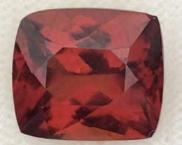 3.85ct Bright Firey  Red Hessonite Garnet, VVS. Afghanistan G300 H771