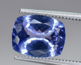2.98 Crt Natural Tanzanite Faceted Gemstone
