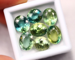 14.28Ct Natural Color Changed Green Apatite  B0602