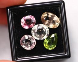 12.31Ct Natural Fancy Color Tourmaline Auction  E0615