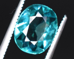 1.80 Carats  Natural Blue Indicolite  Tourmaline Gemstones