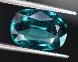 5.35 Carats Natural Blue Indicolite Tourmaline Gemstones