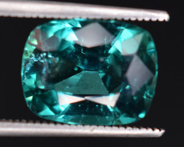 4.80  Carats Natural Blue Indicolite Tourmaline Gemstones