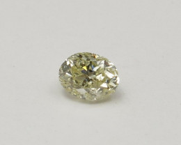 Natural Fancy Yellow Diamond HRD certified