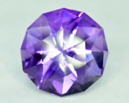 S#31-74 , 11.20 cts Top Grade Fancy Cut Amethyst Gemstone