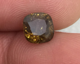 (B6) GFCO Certified Stunning 1.64ct Natural Alexandrite Very RARE!