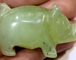 60.75cts -JADE PIG  CARVING  LT-919