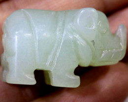 46cts -JADE ELEPHANT CARVING  LT-920