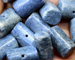 70CTS BLUE CORAL NATURAL BEADS TBG-2981