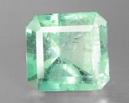 3.10 NATURAL EARTH MINED GREEN COLOR COLOMBIAN EMERALD LOOSE GEMSTONE