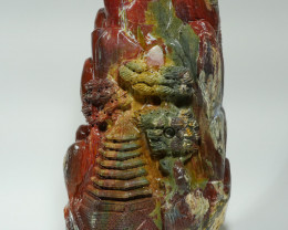 3722 GRAM STUNNING INDONESIAN AGATE TEMPLE CARVING -KZ-