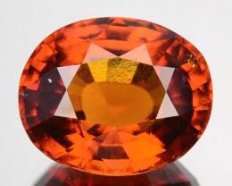 ~AMAZING~ 7.10 Cts Natural Cinnamon Orange Hessonite Garnet Oval Cut Sri La