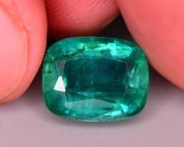 Spectacular Clarity 5.80 Ct Natural Zambian Emerald