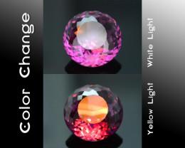 Rarest Garnet 6.50 ct Dramatic Full Color Change SKU-9