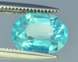 Great Luster 1.60 ct Apatite Mesmerizing Caribbean Color