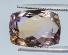 7.60 Crt Ametrine Faceted Gemstone (R15)